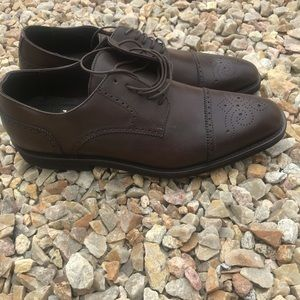 Bruno Magli mens brown dress shoes size 10